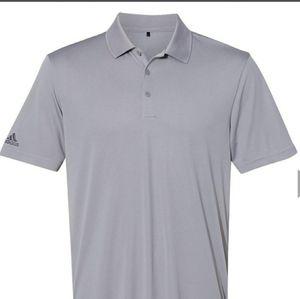 Adidas Gray Golf Shirt Polo